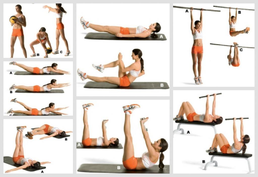 Welke spieren train je met crunches