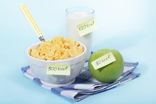 calorie dieet schema