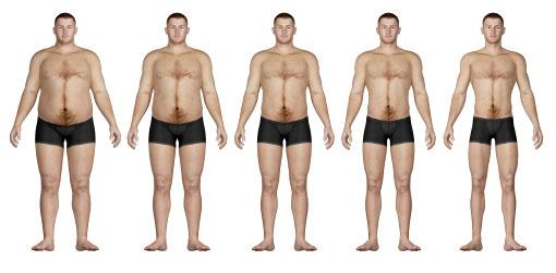 spieren kweken en afvallen